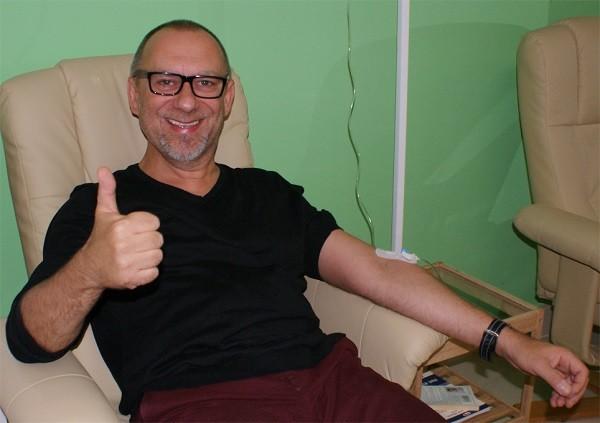 Aktor Grzegorz Pawlak