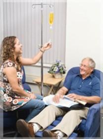 Dożylne podawanie witaminy C dla pacjenta