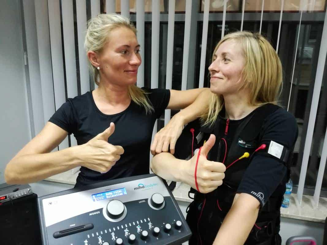 uczestniczki treningu EMS